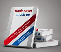 Free Book Cover Display Mockup #freepsdfiles #freepsdmockups #presentationmockups #businesscard