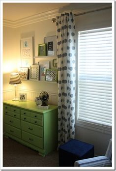 beautiful light green dresser
