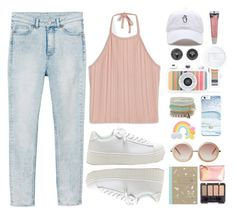 """""""La Sardina"""" by donut-care ❤ liked on Polyvore featuring Monki, ALDO, Rad+Refined, Lomography, Burt's Bees, StreetStyle, travel, light, pastel and lomograpghy"""