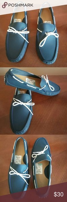 Blue Cole Han shoes Mens Blue stylish Cole Han Shoes. Purchased from Nordstrom rack size 12m. Worn Once. Excellent Condition! Cole Haan Shoes Loafers & Slip-Ons