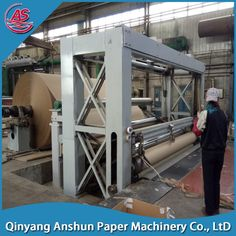 Small Products Kraft Paper Machinery Manufacturing Machines
