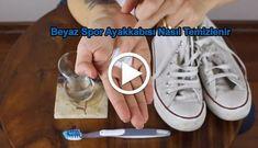 Beyaz ayakabılarınızı ilk gün ki halıne getirmek çok kolay işte videomuz. Adidas Stan Smith, Sperrys, Adidas Sneakers, Tube, Cleaning, Home Cleaning, Adidas Shoes