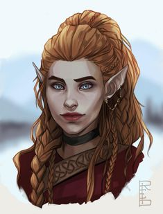 Elves Fantasy, Fantasy Races, Fantasy Rpg, Fantasy Girl, Female Character Inspiration, Fantasy Character Design, Fantasy Inspiration, Character Art, Elf Characters