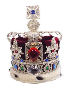 The British Imperial State Crown is the most magnificent of all the Crown Regalia. It was made in 1838 for the coronation of Queen Victoria, and then altered for the coronation of George VI in 1937 and Elizabeth II in 1953. It replaced the crown of St. Edward on the head of the ruler immediately after the coronation. Although the crown is modern in design it is set with very ancient gems.