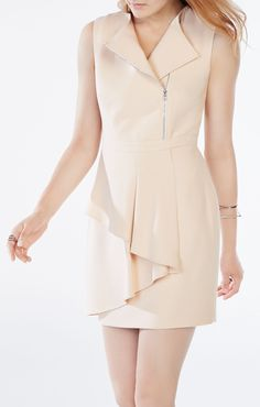 Camilla Asymmetrical Peplum Dress