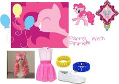 """""""Pinkie Pie"""" by shanamel on Polyvore"""