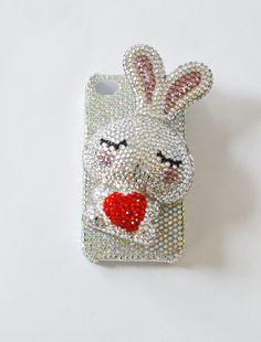 the   sparkling rabbit   iPhone4 case