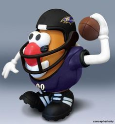 Mr. Potato Head NFL - Baltimore Ravens