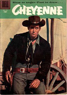 clint walker | Cheyenne ~ Clint Walker, 1958