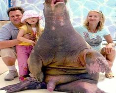 Bad Family Photos: Cousin Larry... feeling a little inferior...