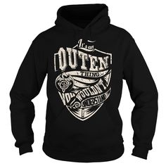 Its an OUTEN Thing (Dragon) - Last Name, Surname T-Shirt