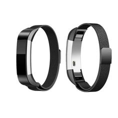 It can stick and lock your Fitbit Alta Bands easily, No Buckle or tool Needed. Easy to attach and remove. The Milanese Fitbit bands Alta HR are made of premium