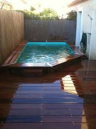 1000 images about piscine hors sol on pinterest piscine for Piscine en teck semi enterree