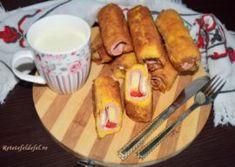 CUBURI APERITIV CU SPANAC,BRANZA SI CIUPERCI - Rețete Fel de Fel Nutella, Muffins, Pretzel Bites, Ketchup, Caramel, French Toast, Deserts, Food And Drink, Bread