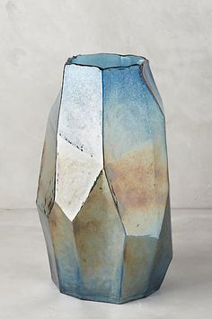 Iridescent Angles Vase - anthropologie.com
