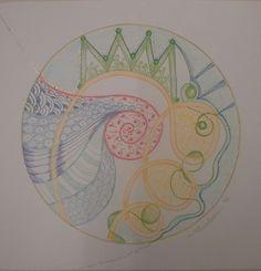 Geboorte mandala , Marleen Peskens