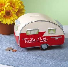 Cute for change... and I am sure i am going to need it!  vintage travel trailers - Bing Images