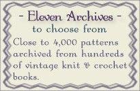 Knit and crochet vintage pattern archives - Close to Free Patterns. Crochet Books, Love Crochet, Crochet Crafts, Crochet Yarn, Crochet Projects, Knitting Projects, Crochet Ideas, Vintage Crochet Patterns, Vintage Knitting