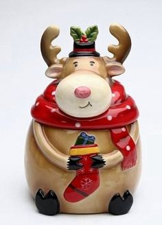 Cosmos Gifts 56522 Seasonal/Holiday Moose Cookie Jar, 7-Inch, http://www.amazon.com/dp/B007T4INN6/ref=cm_sw_r_pi_awd_6ZyGsb08W9MKE