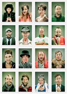 Distorted Scotch Tape Portraits by Wes Naman b41b3a76eaad