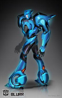 Transformers Prime: Blurr by dou-hong.deviantart.com