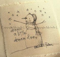 Michelle Palmer snowman love