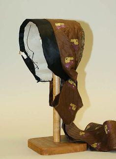 Danish Bonnet (1800-1843)