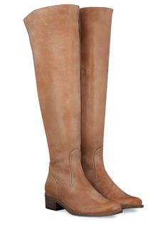 Edra Tan leather womens-boots list