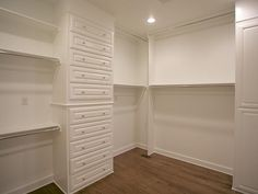 Im not sure but this fabulous closet might be bigger than my bedroom.