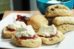 Zesty green tea scones – Recipes – Bite