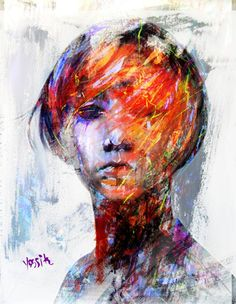 "Saatchi Art Artist yossi kotler; New Media, ""internal blindness"" #art"