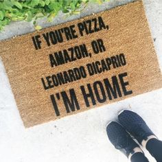 I need this mat! Via @housebeautiful from Josie B ( on Etsy) #imhdmemes