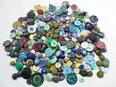 Antique / Vintage Lot of 337 BUTTONS Plastic / by KathiJanes