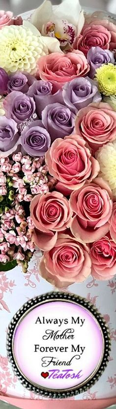 ❈Téa Tosh❈ Happy Mother's Day… 🌹❤️🌹 #HappyMothersDay  #teatosh Happy Mother S Day, Happy Mothers, My Flower, Flowers, Box Roses, Her Hair, Tea, Heavenly, Bouquets