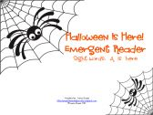 Halloween Is Here! Emergent Reader product from Playful-Learning-Brooklyn on TeachersNotebook.com