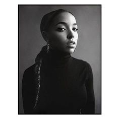 @hayleylouisabrown: This portrait of Tinashe was shot in my apartment in Whitechapel for the first issue of BRICK (@brickthemag) a music publication I founded in 2015. I wanted to shoot her in a similar vein to Sade so kept it very simple and classic. Shes actually wearing my roll neck and earrings in this image. via British Journal of Photography on Instagram - #photographer #photography #photo #instapic #instagram #photofreak #photolover #nikon #canon #leica #hasselblad #polaroid…