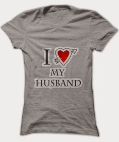 I heart my husband t-shirt | Fashion of My Dreams