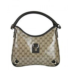 73cd678decf Gorgeous Gucci Beige Crystal Abbey Hobo Bag. Available at http   Brandinia.
