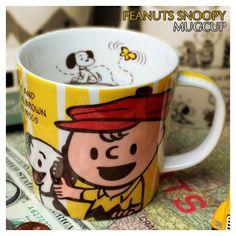 Peanuts coffee mug - Snoopy and Charlie Brown