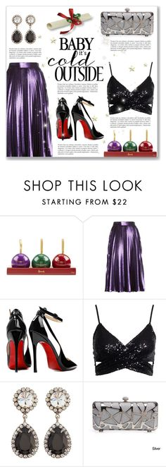 """""""New Year's Eve Fabulous Outfit"""" by dressedbyrose ❤ liked on Polyvore featuring Harrods, Gucci, Posh Girl and DANNIJO"""