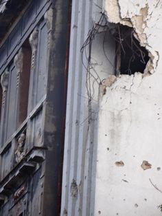 Imagens das destruições em Mostar Bósnia