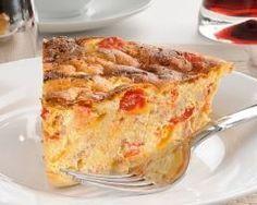 Quiche sans pâte aux crevettes et poivrons deux couleurs : http://www.cuisineaz.com/recettes/quiche-sans-pate-aux-crevettes-et-poivrons-deux-couleurs-83404.aspx