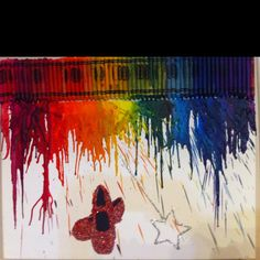 Wizard of Oz crayon art.