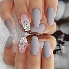 In search for some nail designs and ideas for your nails? Listed here is our listing of must-try coffin acrylic nails for cool women. Classy Nails, Cute Nails, Pretty Nails, My Nails, Nails Today, Neon Nails, Simple Nails, Best Acrylic Nails, Acrylic Nail Designs