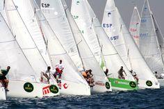 Boat race in Puerto Banús