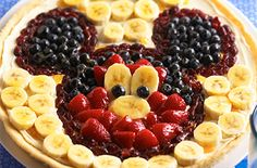 Mickey Fruit Pizza | Craisins.com