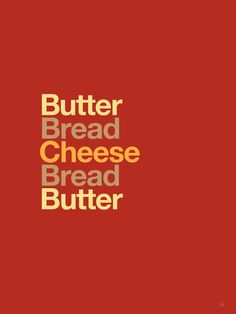 Helvetica Sandwiches: typeset depictions of food, for the minimalist in you. (via foodiggity.com)