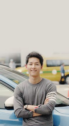 descendants of the sun, and handsome guy Song Joong Ki