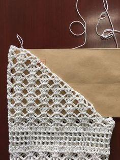 #Blouse #Blusa Tricolor 1ra Parte #Crocheteando con la Comadre
