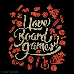 I love Board Games By Adam, today at The Yetee!